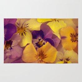Viola bed. Rug