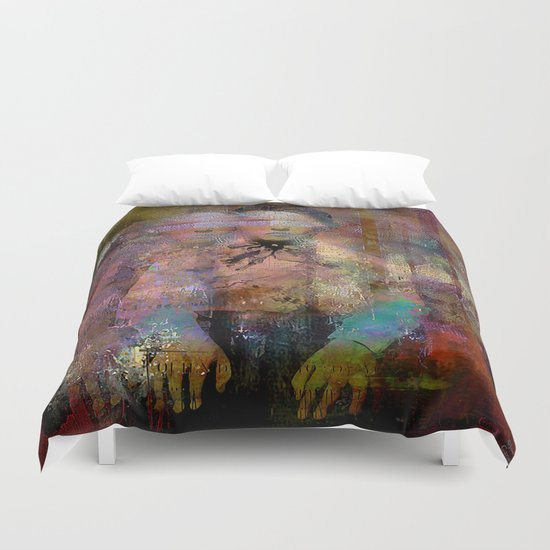 The kid  Duvet Cover