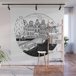 Memories of Amsterdam Wall Mural