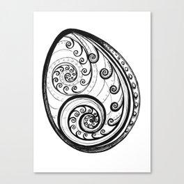 Paua Shell Canvas Print