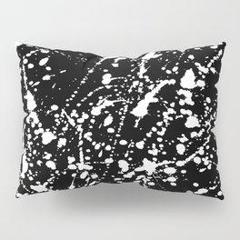 Splat Black Pillow Sham