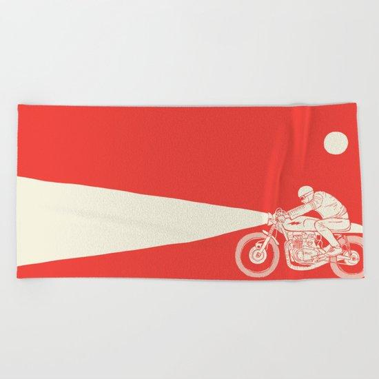 red Beach Towel