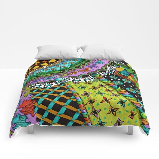 Sun Rays 2 Comforters