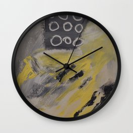 Lemon Merengue Wall Clock