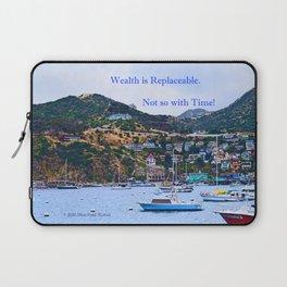 """Catalina Harbor""/ ""Time"" Laptop Sleeve"