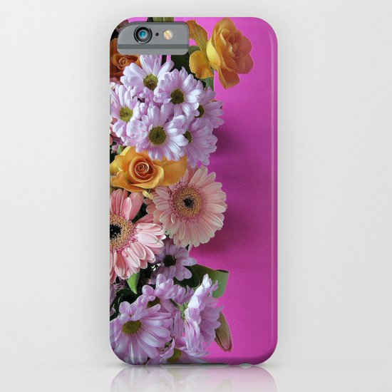 pink 'n flowers iPhone & iPod Case