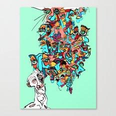 Brain Drain Canvas Print