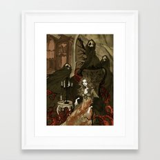 Nightmares of the Alchemist's Wife Framed Art Print