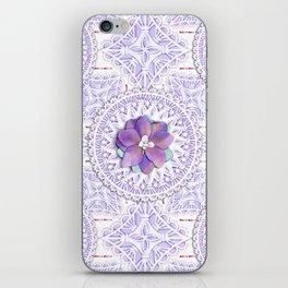 Delphinium Lace iPhone Skin