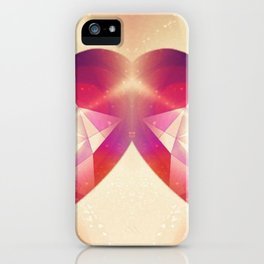 Tri-Color Jewish Star Of Protection iPhone Case