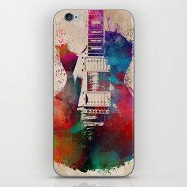 guitar art #guitar iPhone Skin