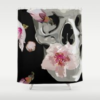 "spring Shower Curtains featuring ""Spring"" by Miguel Angélus Batista"