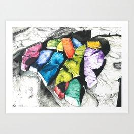Carnivale Rocks Art Print