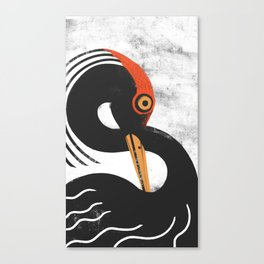 Bird of infinite Canvas Print