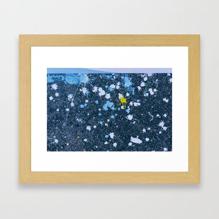Gray Area Framed Art Print