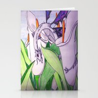 tina fey Stationery Cards featuring Little Fey Dragon by phoenixoftheashes