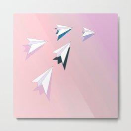 flying planes Metal Print