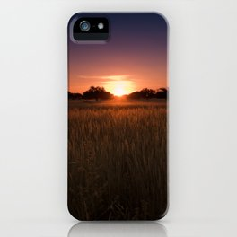 African Kalahari Sunset - Landscape Photography #Society6 iPhone Case