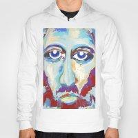 jesus Hoodies featuring Jesus  by melissa lyons