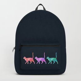 3 Space Cats Backpack