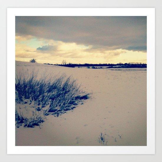 Wisconsin Winter Art Print