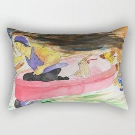 The Pursuit of Speed Rectangular Pillow