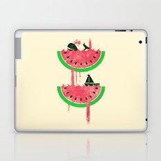 Watermelon falls Final Laptop & iPad Skin