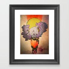 Speechless Awestruck Framed Art Print