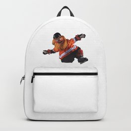 Gritty Flyers Mascot Backpack