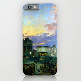 Theodor Groll Indianapolis at Dusk iPhone Case