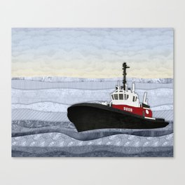 Tugboat Canvas Print