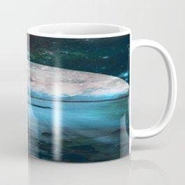 Mystic Lake Blue Green Coffee Mug