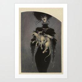 Monster Kitty Art Print