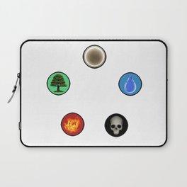 Realistic MTG Symbols Laptop Sleeve