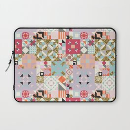 Moroccan Quilt Pattern Laptop Sleeve