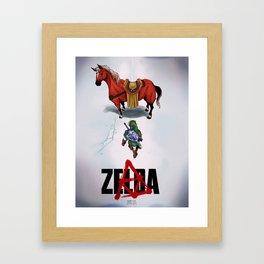 Zelda/Akira Framed Art Print