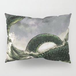 The Midgard Serpent Pillow Sham