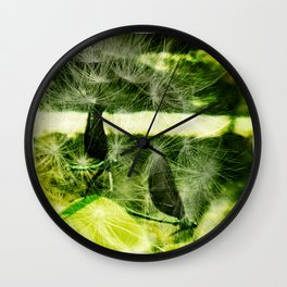 Friends in Nature Wall Clock