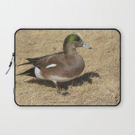 American Wigeon Duck Laptop Sleeve