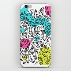 gem stones iPhone & iPod Skin
