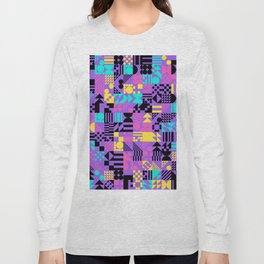 RAND PATTERNS #122: Procedural Art Long Sleeve T-shirt