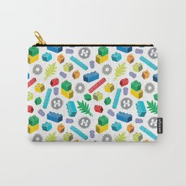 Colourful Building Blocks Carry-All Pouch