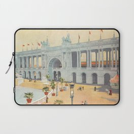 Colonnade at 1893 World's Fair in Chicago Laptop Sleeve