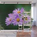 Bee Vibrant Beautiful Purple Flowers by kirajacobsphotographymck