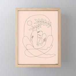 About kaleidoscopes Framed Mini Art Print