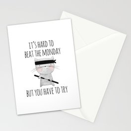 beat the monday /Agat/ Stationery Cards