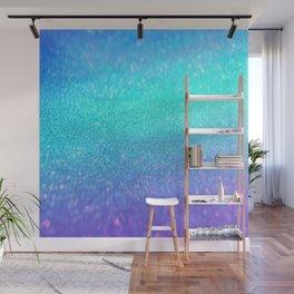 purple blue glitter Wall Mural