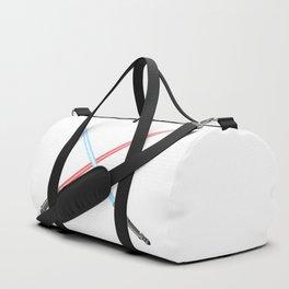 Crossed Light Sword Weapons Duffle Bag