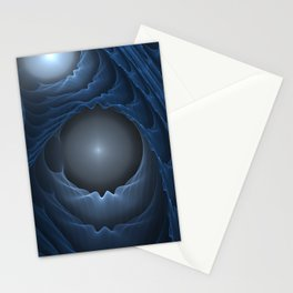 Apotheosis - Journey-Inspired Plastic Fractal Stationery Cards