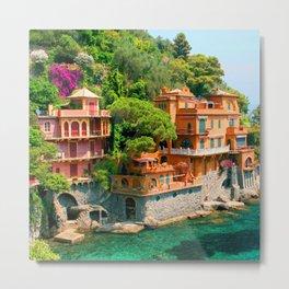 Italy. Portofino Metal Print
